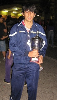 Domenico Aurelio, campione di Volley under 14